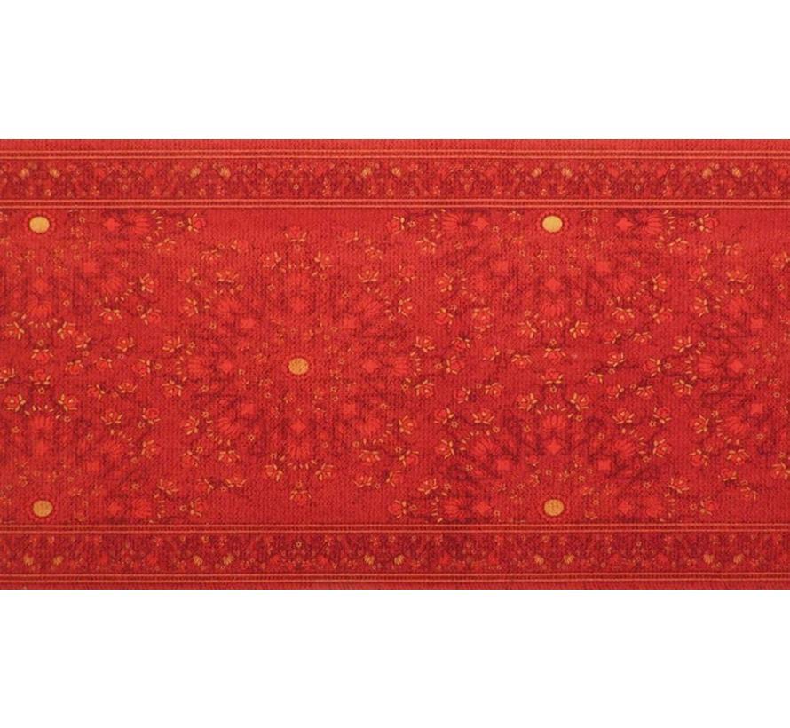 Tapis de passage sur mesure, classic vintage rouge