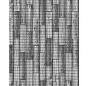 Tapis antidérapants sur mesure, plancher gris