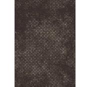 Grijs/bruin tapijt met vintagelook