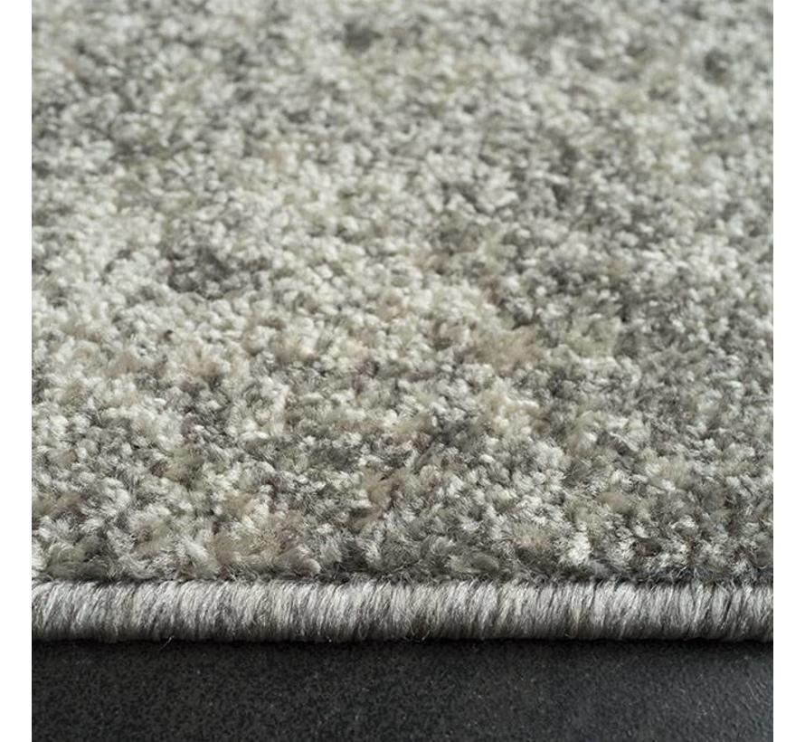 Grijs tapijt met vintagelook