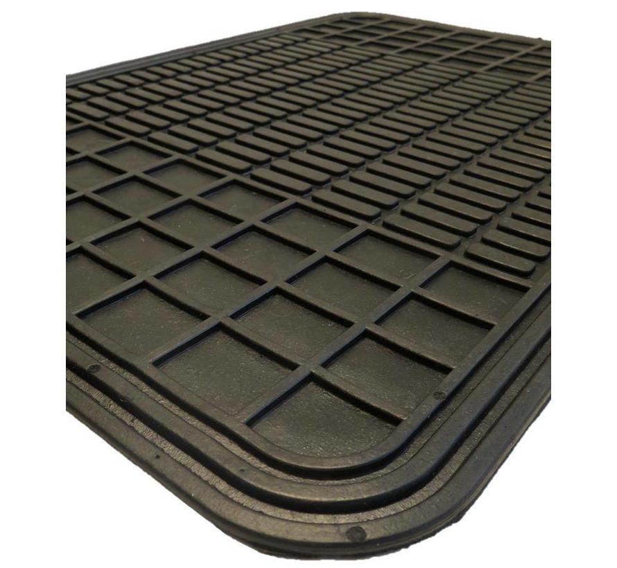 Automatten rubber 4-delig