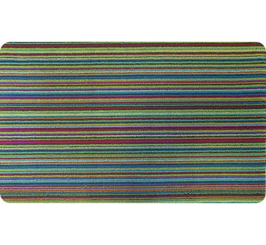 Paillasson grattant PVC, multicolore