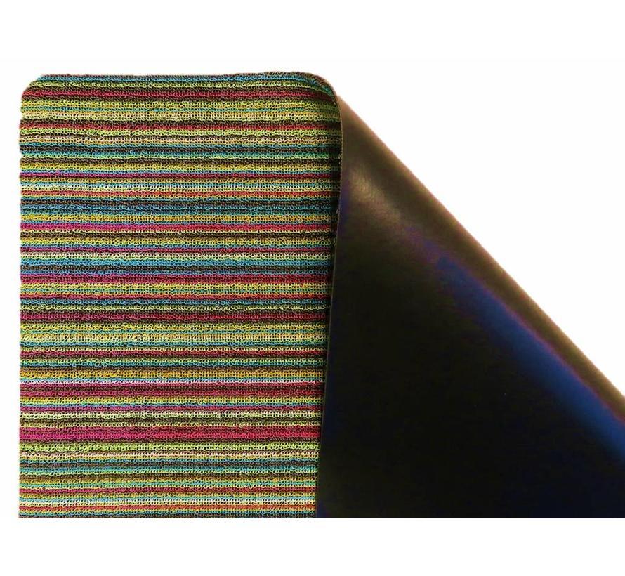 Tapis grattant PVC, multicolore