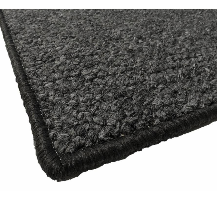 Tapis modern wool look, anthracite