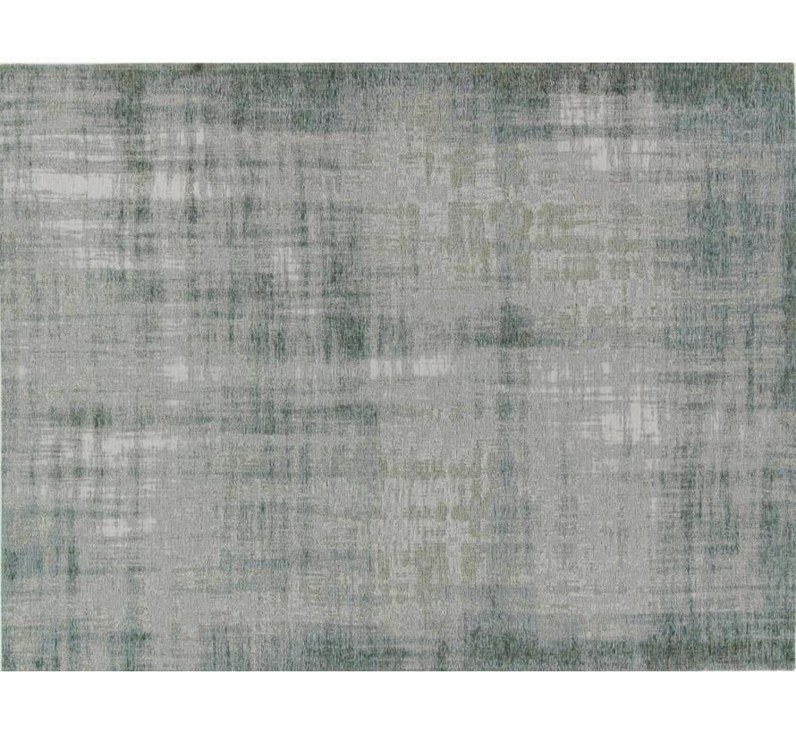 Vintage tapijt, gemêleerd blauw