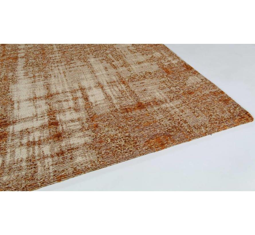 Vintage tapijt, gemêleerd roest