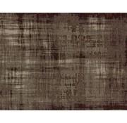 Vintage tapijt, gemêleerd bordeaux