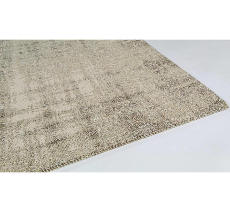 Vintage tapijt, gemêleerd beige