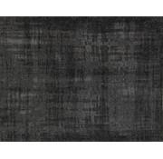 Vintage tapijt, gemêleerd antraciet