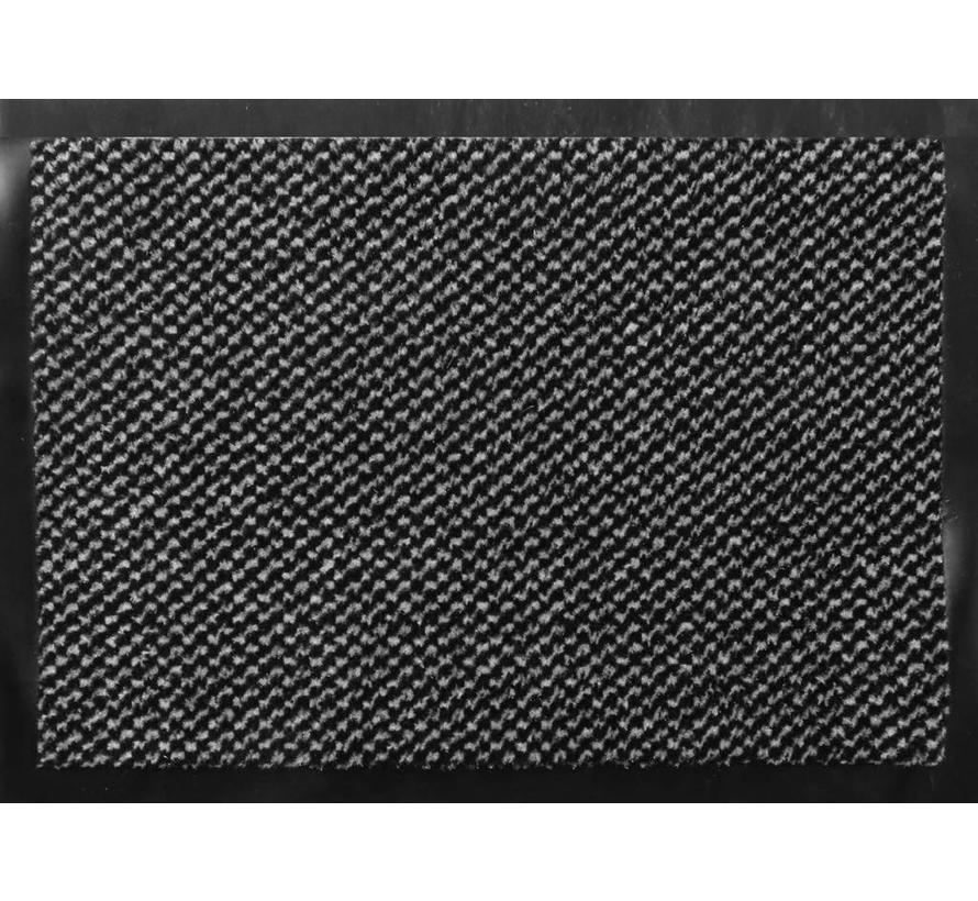 Tapis antipoussière classique gris