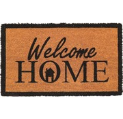 Tapis coco imprimé Welcome Home