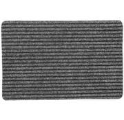 Tapis d'entrée aiguilleté gris