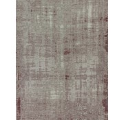 Vintage tapijt, gemêleerd oud roze