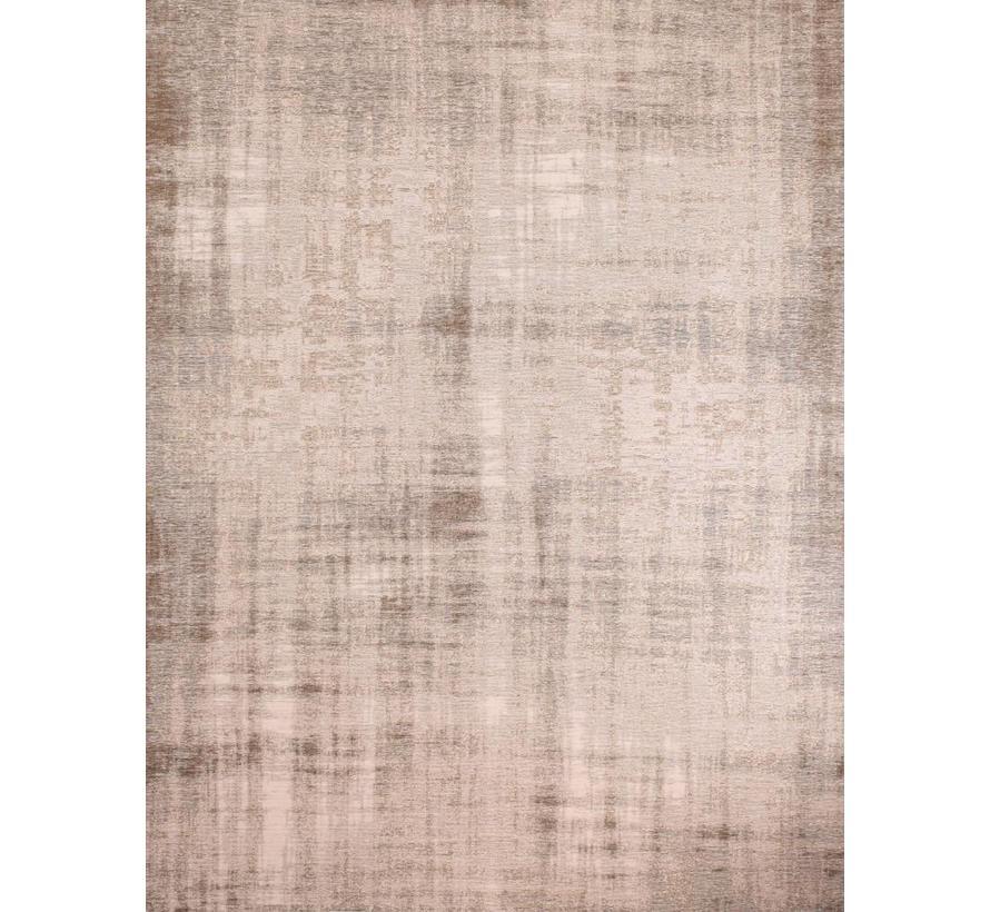 Vintage tapijt, gemêleerd zilver