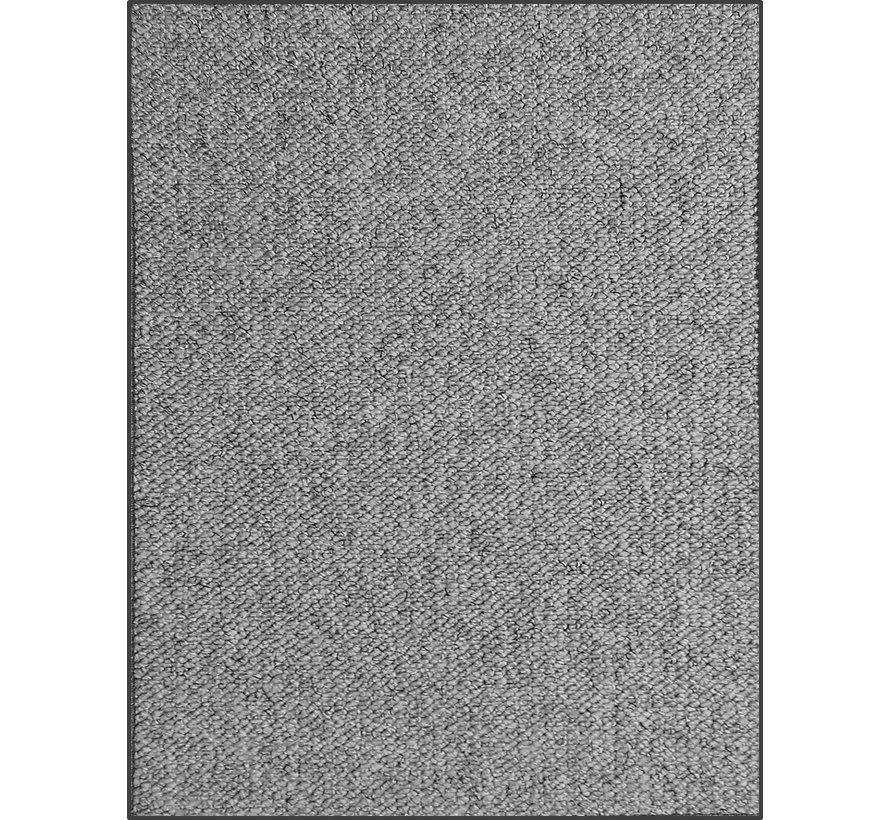 Modern tapijt met wol optiek, grijs