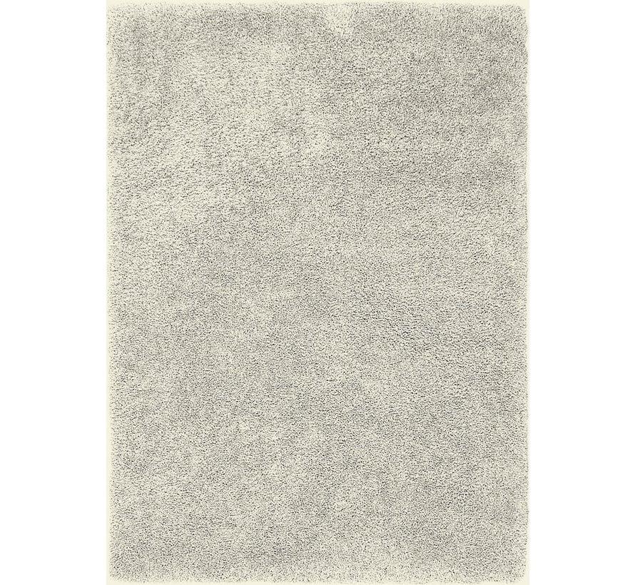 Hoogpolig tapijt wit/beige, 45 mm, op maat