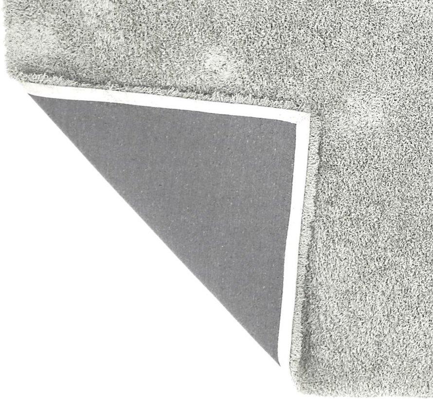 Tapis poil long blanc/beige, 45 mm, sur mesure