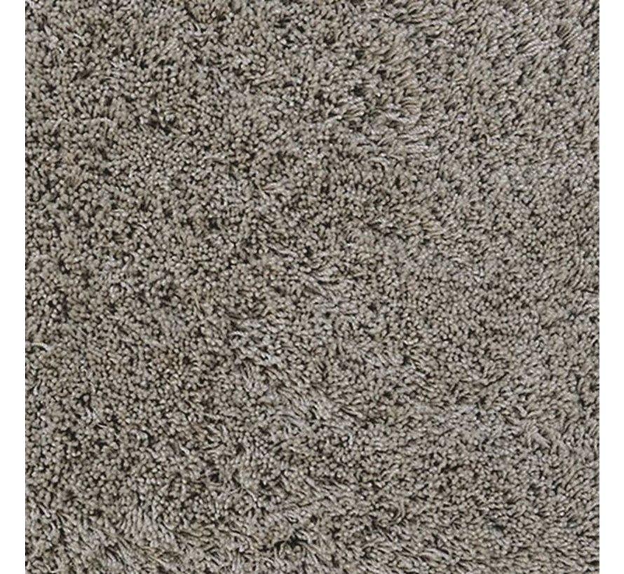 Tapis poil long gris/beige, 45 mm, sur mesure