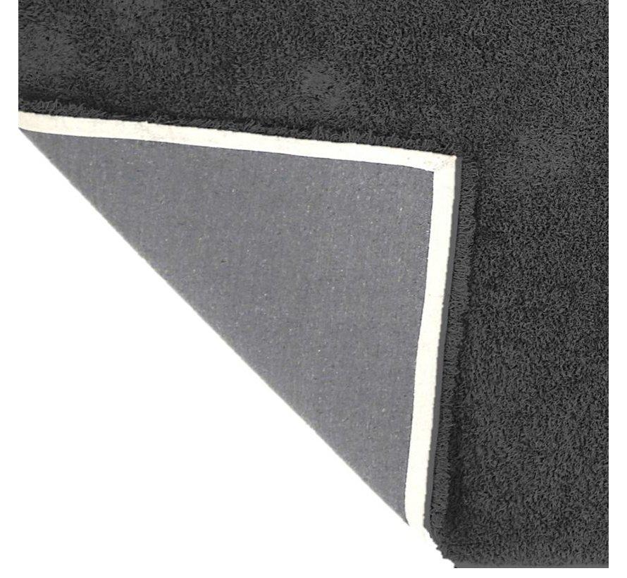 Tapis poil long anthracite, 45 mm, sur mesure