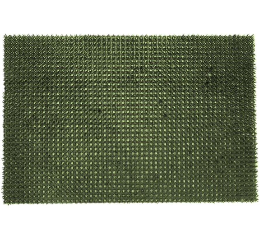 Schrapend grasmatje groen