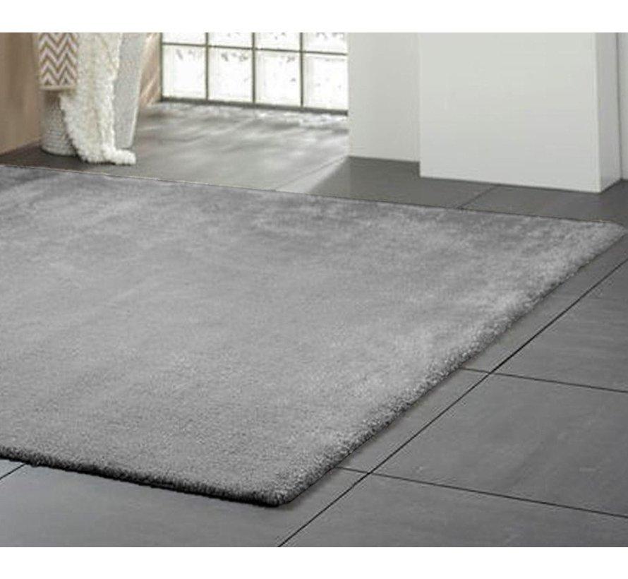 Hoogpolig tapijt grijs, 25 mm, op maat