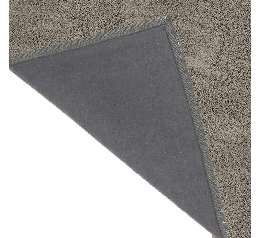 Tapis de haute laine gris, 35 mm, sur mesure