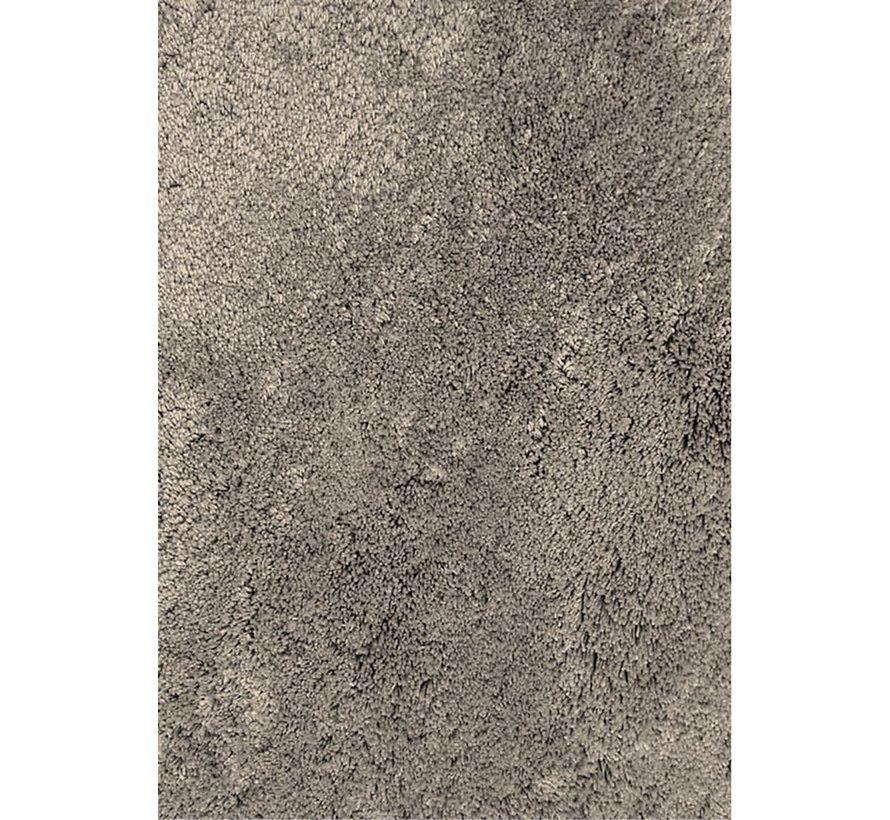 Hoogpolig tapijt grijs, 35 mm, op maat