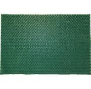 Schrapend grasmatje groen in rubber