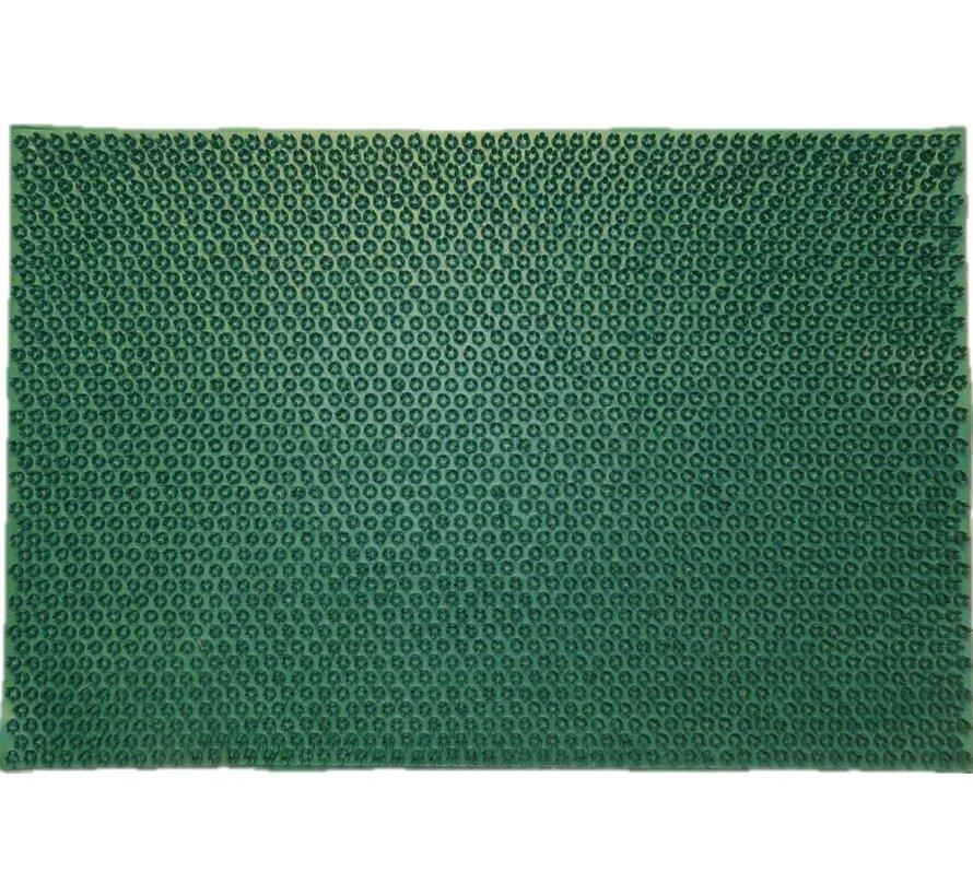 Tapis gazon grattant en caoutchouc , vert