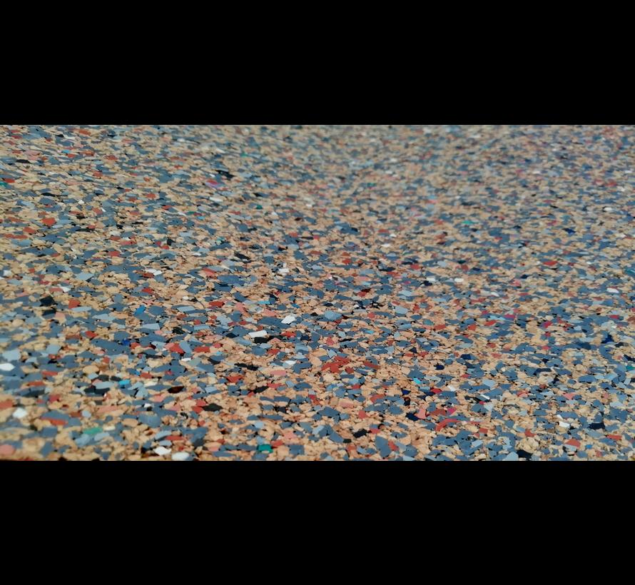 Tapis protection de sol pour moto