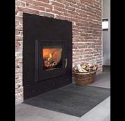 Tapis de protection anti feu cheminée anthra
