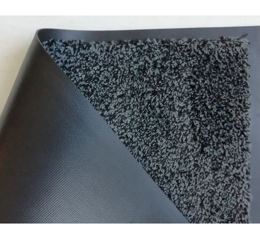 Paillasson absorbant microfibre anthracite