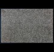Droogloopmat microfiber bruin beige