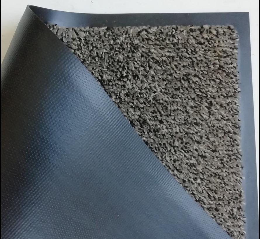 Tapis d'entrée absorbant microfbre brun beige