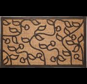 Tapis coco/caoutchouc avec dessin
