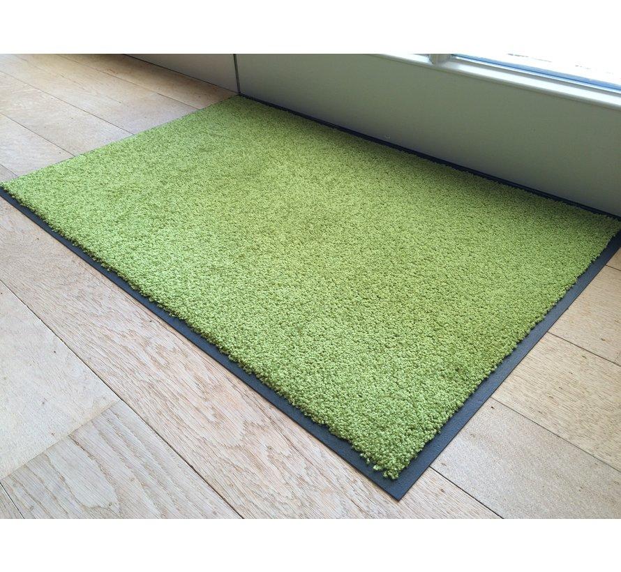 Tapis d'entrée absorbant vert