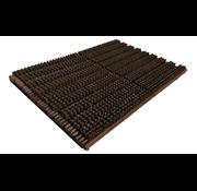 Tapis grattant brun