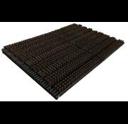 Tapis grattant noir/brun