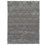 Modern tapijt met ruitdessin grijs