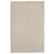 Tapis poil long beige 25 mm