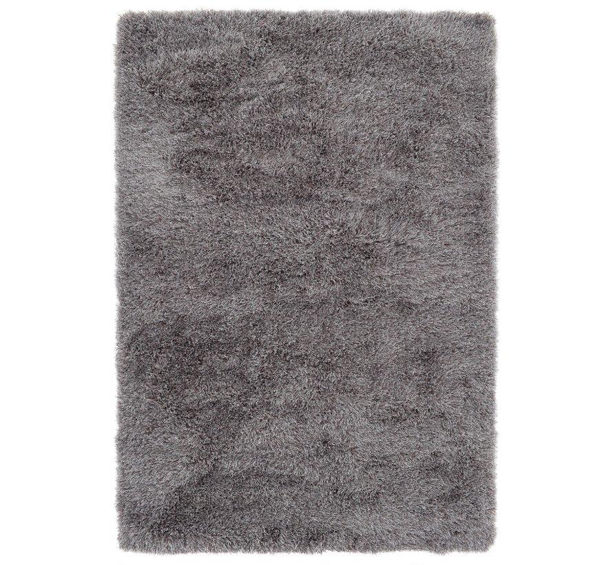 Hoogpolig tapijt in polyester mix  grijs
