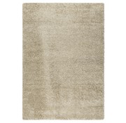 Tapis poil long beige 30 mm