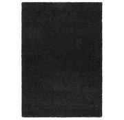 Hoogpolig tapijt zwart 30 mm