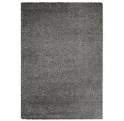 Tapis poil long gris 30 mm