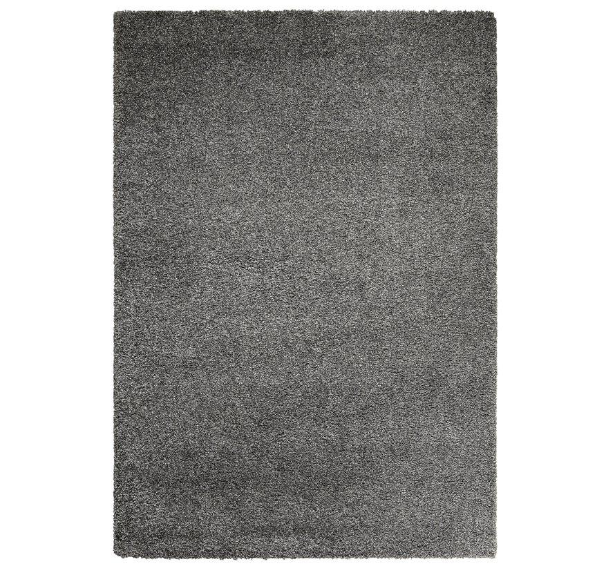 Tapis poil long gris 30 mm