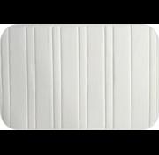 Badmat memoryfoam ivoor lijnen