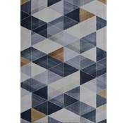 Vintage tapijt, bedrukt, modern dessin