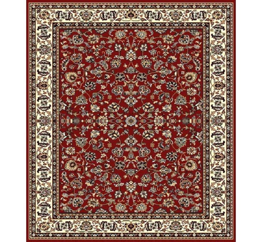 Klassiek tapijt bordeaux