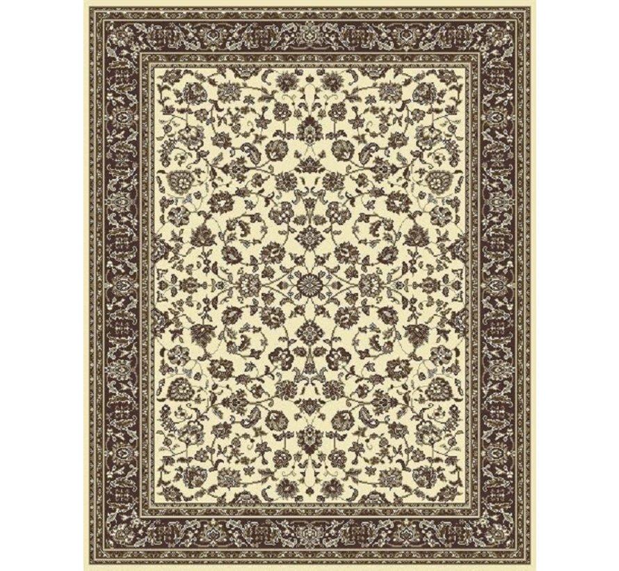 Klassiek tapijt ivoor