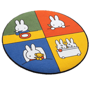 Tapis enfant rond Miffy